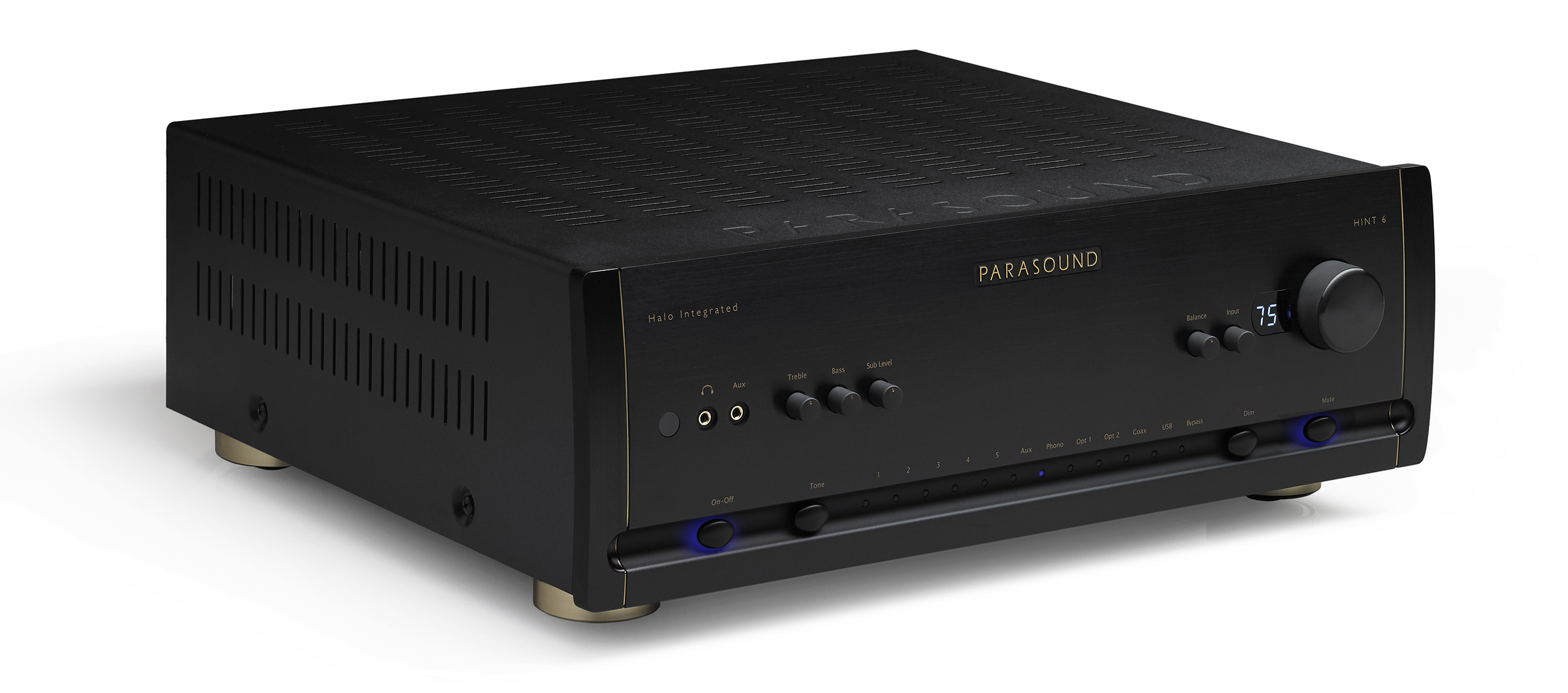 Model Hint 6 Halo Integrated Amplifier Parasound 70 Watt Mosfet